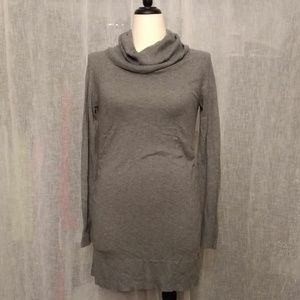 Maternity Ruched Sweater Dress